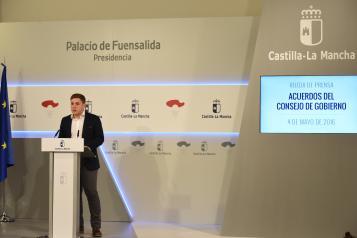 El portavoz del Gobierno regional, Nacho Hernando, comparece para informar de los acuerdos del Consejo de Gobierno