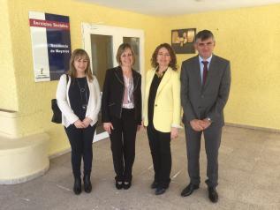 """Visita a la residencia de mayores """"LAS HOCES"""" de Cuenca"""