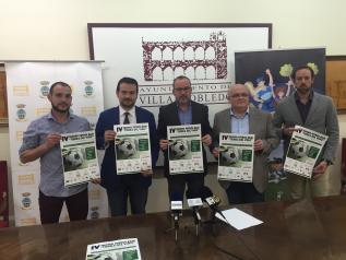 Una nueva edición del Trofeo 'Tierra del Vino' de Fútbol Base, primer protagonista deportivo del IV Centenario en Castilla-La Mancha