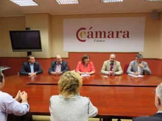 El Ejecutivo regional apoyará a las Cámaras con el impulso de su Ley autonómica y la colaboración en programas europeos