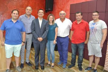 El Gobierno de Castilla-La Mancha favorecerá proyectos concretos de jóvenes agricultores y mejora de porcino intensivo para el suministro de Incarlopsa
