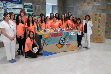 La Unidad de Trastornos del Comportamiento Alimentario de Albacete impulsa la 'Milla Hospitalaria' para fomentar hábitos de vida saludables