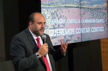 Presentación de la nueva imagen de la televisión autonómica de Castilla-La Mancha