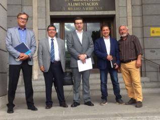 La Agencia del Agua de Castilla-La Mancha obtiene otro compromiso del Estado para la conclusión de la red de abastecimiento de Morillejo