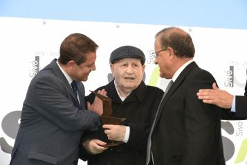 El presidente de Castilla-La Mancha, Emiliano García-Page, asiste al acto de conmemoración del primer centenario de la empresa Hijos de José Sivó, S.L.