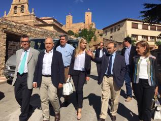 Elena de la Cruz visita Molina de Aragón