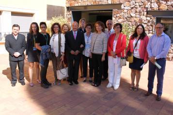 Aurelia Sánchez visita la primera edición del Programa de Termalismo Terapéutico para entidades de personas afectadas de Párkinson