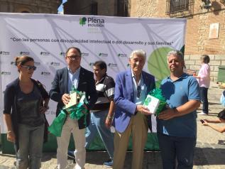 """El Gobierno regional traslada palabras de """"agradecimiento y esperanza"""" a Plena Inclusión Castilla- La Mancha en el primer aniversario de su logo"""