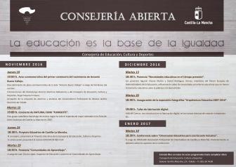 La Consejería de Educación, Cultura y Deportes abre sus puertas a la ciudadanía con el programa 'Consejería Abierta'