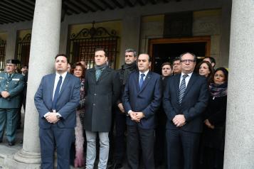Minuto de silencio convocado por la Delegación del Gobierno en la región