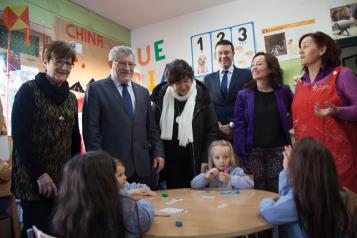 Visita al Colegio de Educación Infantil y Primaria 'Federico Muelas'