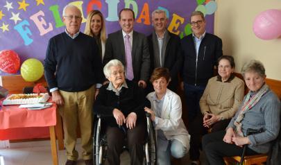 El Gobierno regional felicita a Faustina Ambite que hoy cumple 104 años