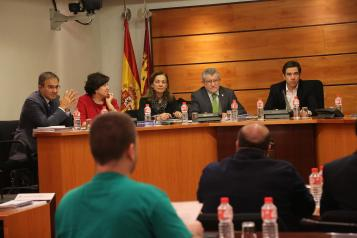 El consejero de Educación, Cultura y Deportes comparece ante la Comisión de Presupuestos de Las Cortes