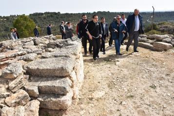Fuente de la Mota estará incluido en el Plan de Excelencia de Parques Arqueológicos y Yacimientos Visitables de Castilla-La Mancha