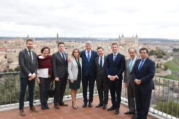 """El futuro parque temático de Toledo generará un """"crecimiento extraordinario de nuestro PIB"""" y favorecerá el turismo regional"""