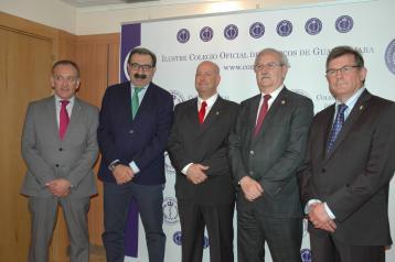 Junta Directiva del Colegio de Médicos de Guadalajara