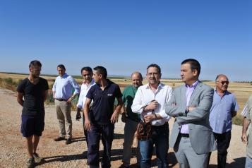 """El Gobierno regional apoya a los agricultores que """"llevan años apostando por regadíos eficientes"""" e impulsa su unión en defensa del acceso al agua"""