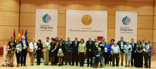 El Hospital Nacional de Parapléjicos recibe el galardón de honor de la Fundación Diagrama