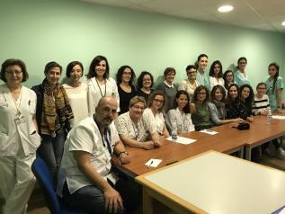 Profesionales de la Gerencia de Atención Integrada de Albacete trabajan en la implantación de la Guía de Buena Práctica Clínica 'Lactancia Materna'