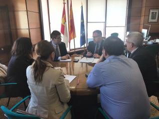 Reunión de la Consejería de Fomento con Colegio de Registradores de Fincas de Albacete y Cuenca