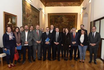 Consejo de Gobierno abierto con representantes de la Asociación de Familias Numerosas