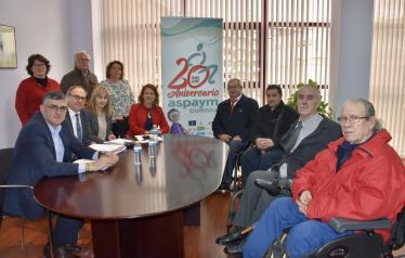 El Gobierno de Castilla-La Mancha destaca la labor de ASPAYM Cuenca en su 20 aniversario