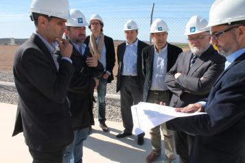 Visita a la Subestación de Red Eléctrica Española (REE) en Bonete (Albacete)