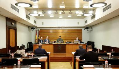 El director general de Empresas, Competitividad e Internacionalización, Javier Rosell, en la Comisión de Empleo