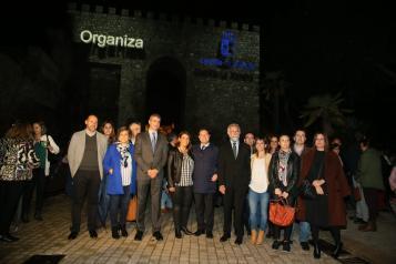Espectáculo de luz y sonido '40º Aniversario de la Constitución Española. Memoria y Concordia', en Talavera de la Reina (Toledo)