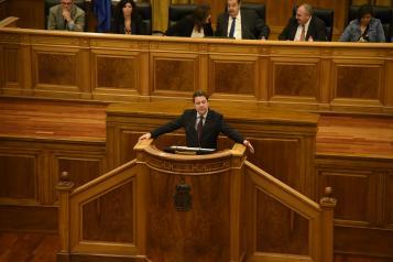El presidente García-Page ofrece cuatro grandes pactos en empleo, financiación autonómica y fiscalidad, agua y medio ambiente
