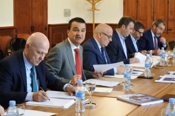 El consejero de Agricultura, Medio Ambiente y Desarrollo Rural preside la reunión del Patronato de la Fundación Dieta Mediterránea