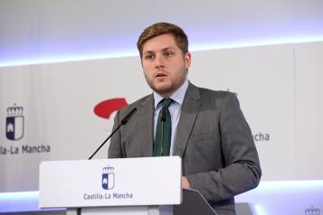 El portavoz del Gobierno regional en funciones, Nacho Hernando, informa en rueda de prensa de los acuerdos aprobados en el Consejo de Gobierno