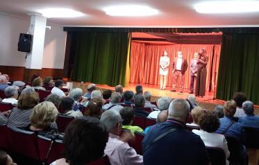 Un total de 300 mayores de la provincia asisten como público y participan como actores en la XI edición del Festival de Teatro de los Centros de Mayores de Toledo