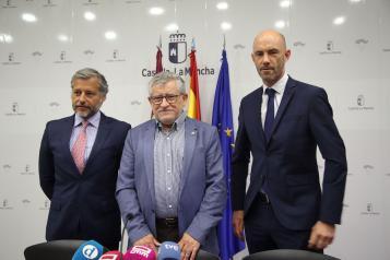 El consejero de Educación, Cultura y Deportes en funciones, Ángel Felpeto, participa en una nueva edición de Consejería Abierta, denominada 'El sueño de Toledo' de Puy du Fou
