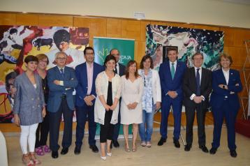 La consejera de Economía, Empresas y Empleo en funciones asiste al primer desayuno informativo de la Asociación de la Prensa de Ciudad Real
