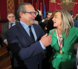 El Gobierno regional felicita a la alcaldesa de Toledo y le desea continuar con éxito su gestión