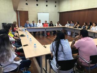 Castilla-La Mancha da la bienvenida a una delegación de directores y profesores de México y Colombia y les informa del modelo educativo regional