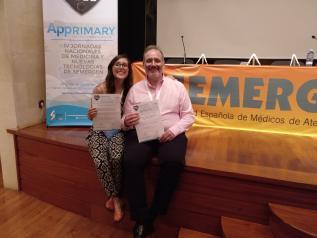 Un médico y una residente del Centro de Salud de Azuqueca de Henares (Guadalajara), premiados en unas jornadas de Nuevas Tecnologías de Semergen