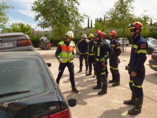 Un total de 410 alumnos de los grupos de intervención en emergencia se han formado en el mes de junio en la Escuela de Protección Ciudadana