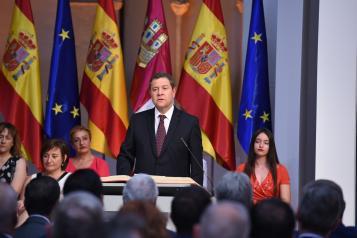 García-Page completa un Gobierno para apostar por el crecimiento económico, la sostenibilidad ambiental y el impulso al Estado del Bienestar