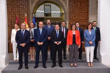 García-Page preside la primera reunión del nuevo Consejo de Gobierno