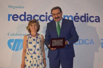Fernández Sanz. reconocido como mejor consejero de Sanidad del sistema sanitario público por Sanitaria 2000
