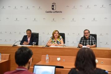 La consejera de Educación, Cultura y Deportes, Rosa Ana Rodríguez sobre la resolución definitiva de la convocatoria de 2019 de las Ayudas a la Investigación del Patrimonio Arqueológico y Paleontológico de Castilla-La Mancha