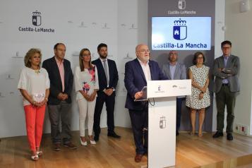 Acto de presentación de los delegados y las delegadas de cada Consejería en Albacete