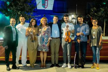 El Gobierno regional muestra su apoyo a los jóvenes músicos de la región y aplaude el nuevo trabajo del violinista toledano Alfonso Aldeanueva