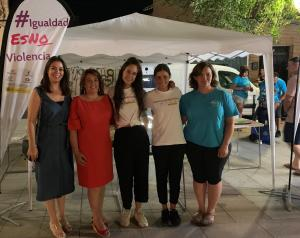 Más de 100 jóvenes participan en Camarena en el arranque de la campaña regional 'Sin un sí, ¡es no!' por la provincia de Toledo
