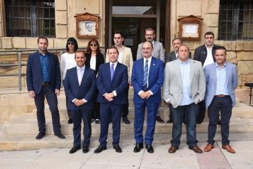 García-Page se reúne con el presidente de Aragón