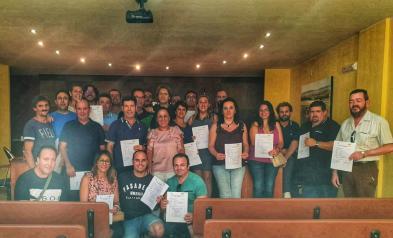 El Gobierno de Castilla la Mancha impulsa en Castellar de Santiago formación especializada en materia de medio ambiente y agraria
