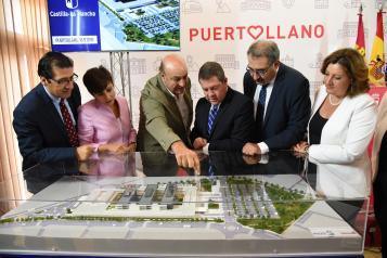 Presentación proyecto del futuro hospital de la ciudad industrial de Puertollano (Ciudad Real) (II)