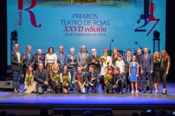 El Gobierno regional felicita a los premiados con los galardones 'Teatro Rojas' y pone en valor la trayectoria de estos reconocimientos
